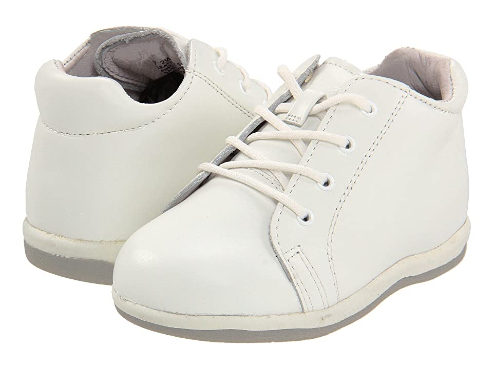 Jumping Jacks Kids Perfection (Infant/Toddler) (White Leather) Kids Shoes