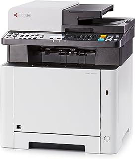 Kyocera Klimaschutz System Ecosys M5521cdn/KL3 Farblaser 3 in 1 Multifunktionsdrucker. 3 Jahre Kyocera Life vor Ort Service. Inkl. Mobile Print Funktion. Amazon Dash Replenishment Kompatibel