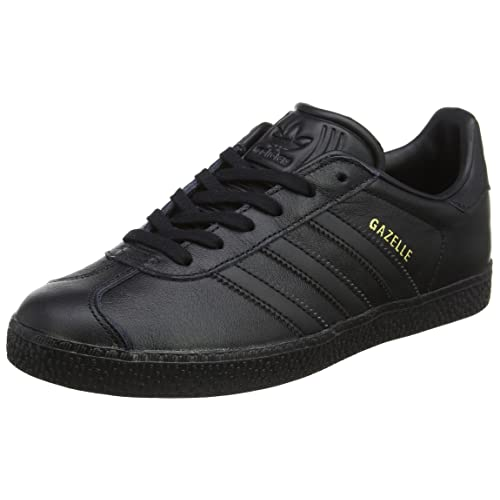 black adidas trainers size 4