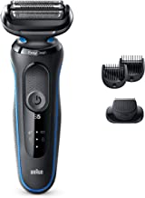 Braun Electric Razor for Men, Series 5 5020s Electric Shaver with Beard Trimmer, Rechargeable, Wet & Dry Foil Shaver with ...