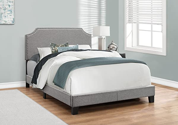 Monarch Specialties I 5925F Bed Frames Full Grey