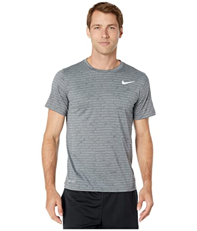 Nike Dry Tee Leg Seasonal All Over Print (Smoke Grey) Men