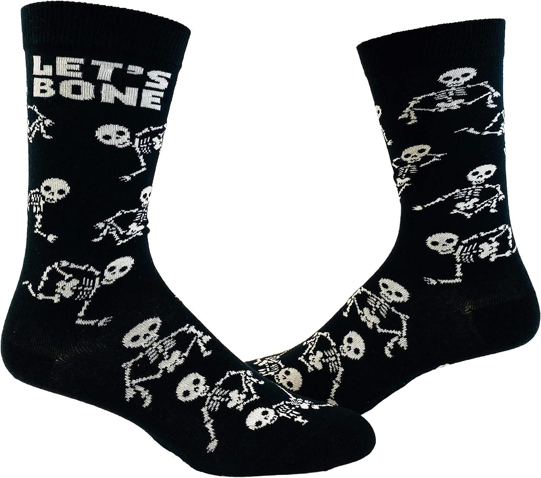 Mens Halloween Socks Funny Spooky October Fall Footware
