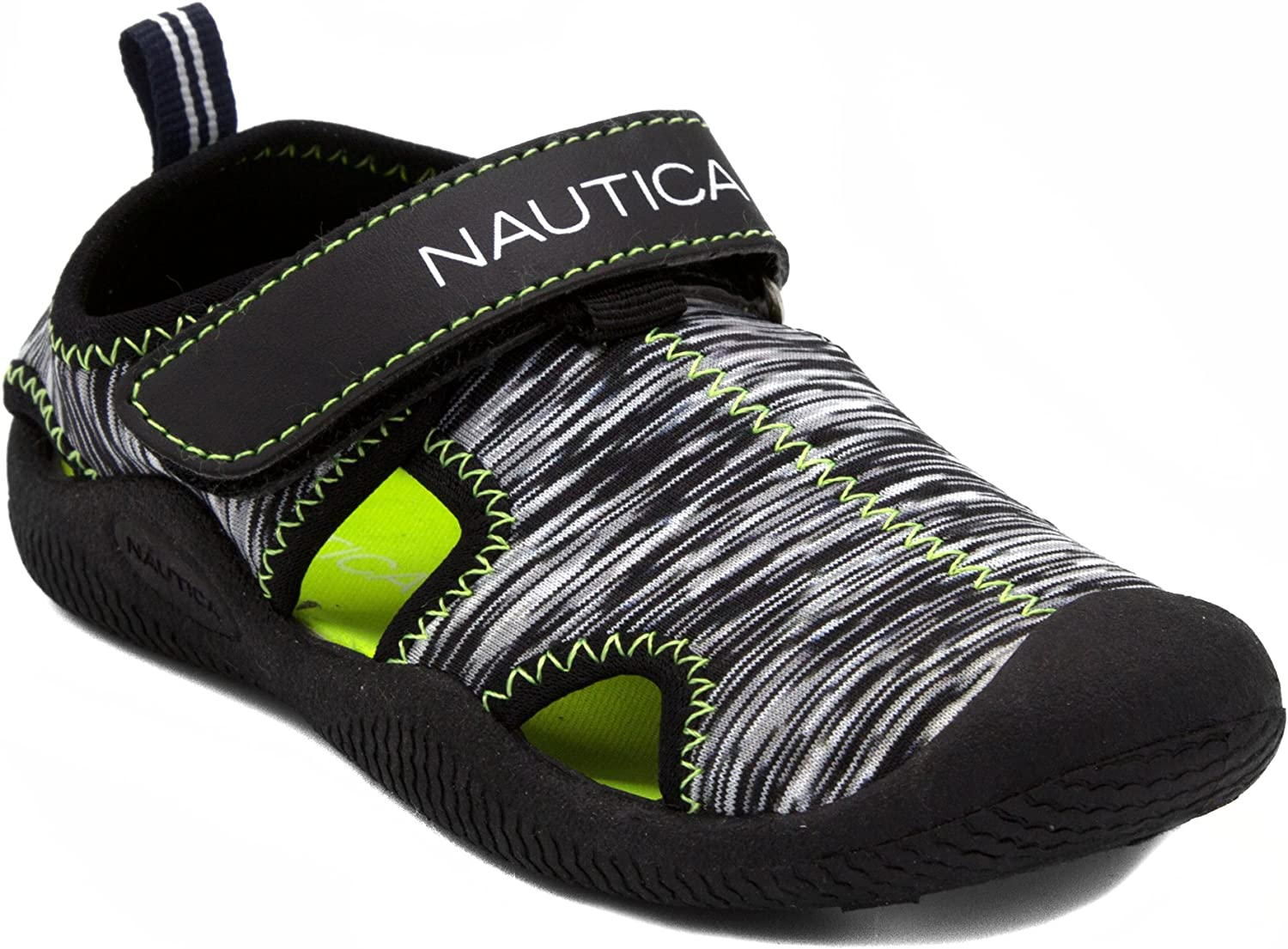 Nautica Kids Kettle Gulf Protective Water Shoe,Closed-Toe Sport Sandal |Boy - Girl (Youth/Big Kid/Little Kid/Toddler/Infant)