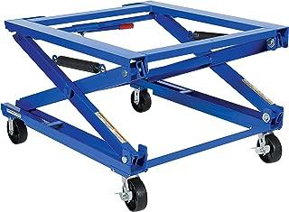 Vestil Adjustable Pallet Stand with Carousel - 4,000-Lb. Capacity, Model Number PS-4045/CA