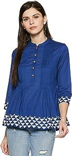 Amazon Brand - Myx Women's cotton short Kurti