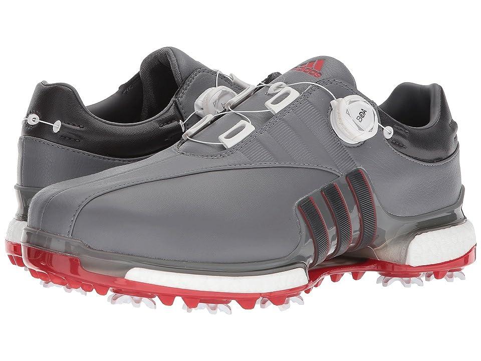 adidas Golf Tour360 EQT Boa (Grey Four/Utility Black/Scarlet) Men