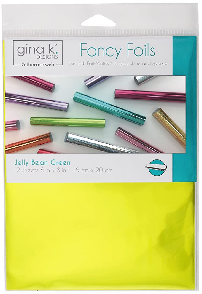 Gina K. Designs for Therm O Web 18036 Fancy Foils, 6