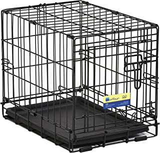 MidWest Crate Life Stages Double Door, Black, 18 Inches