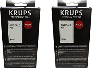 Krups AntiCalc Kit F054 Lot de 2 détartrants
