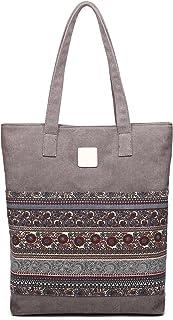 ArcEnCiel Women's Canvas Shoulder Hand Bag Tote Bag
