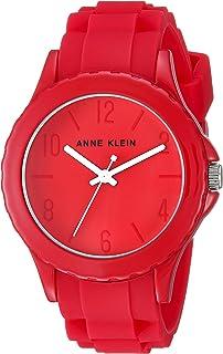 Anne Klein Women's AK/3241 Silicone Strap Watch