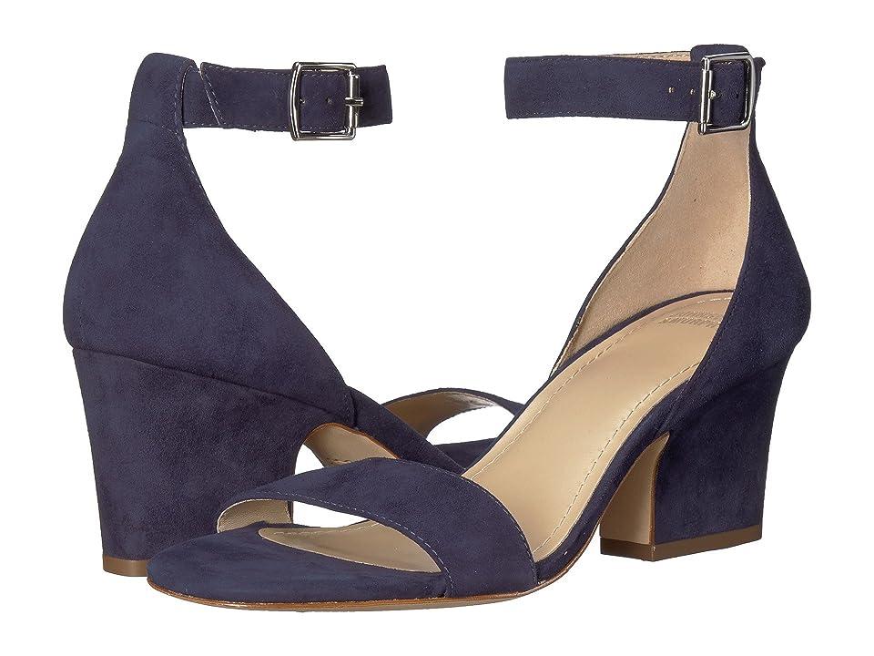 4ece3053e4c753 Johnston   Murphy Deena (Navy Kid Suede) Women s Hook and Loop Shoes
