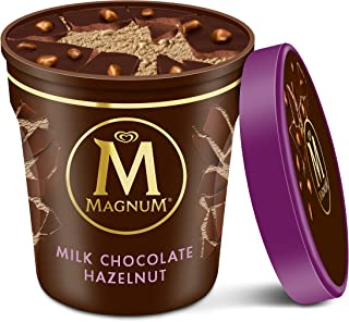 Magnum Ice Cream, Milk Chocolate Hazelnut, 14.8 oz