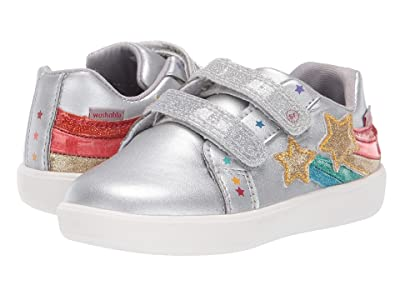 Stride Rite M2P Meadow (Toddler) (Silver) Girls Shoes