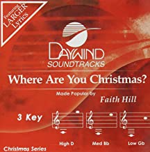 Where Are You Christmas? Accompaniment/Performance Track