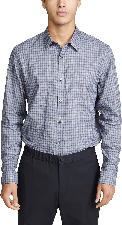 Theory Men's Irving Visby Button Down Shirt