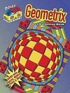3-D Coloring Book - Geometrix (Dover 3-D Coloring Book)