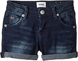 "Hudson Kids 2 1/2"" Roll Shorts in Low Octane (Toddler/Little Kids)"
