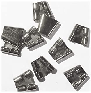 Blank Bolo Tie Slides Pack of 10 Silvertone