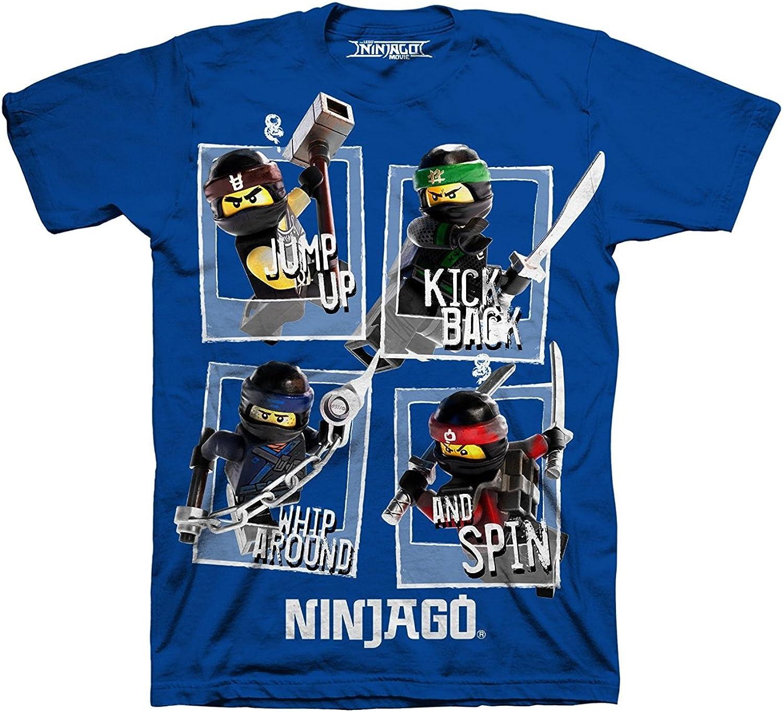 LEGO Ninjago Boy Short Sleeve Shirt Size