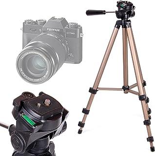 DURAGADGET Trípode Profesional para Cámaras Canon EOS 77D | 800D/Rebel T7i | EOS M6 | IXUS 185 | IXUS 190 - con Nivel De Burbuja