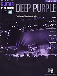 Deep Purple: Guitar Play-Along Volume 190 (Hal Leonard Guitar Play-along)