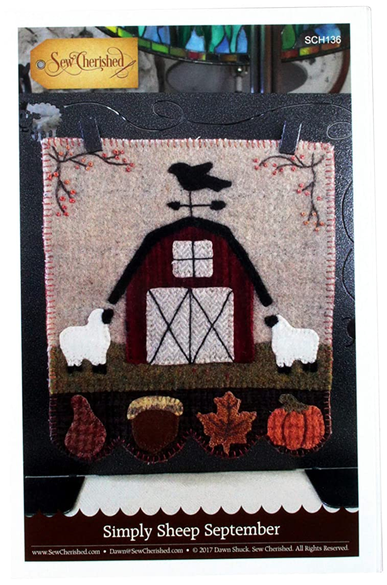 Sew Cherished SCH136 Simply Sheep September Pattern