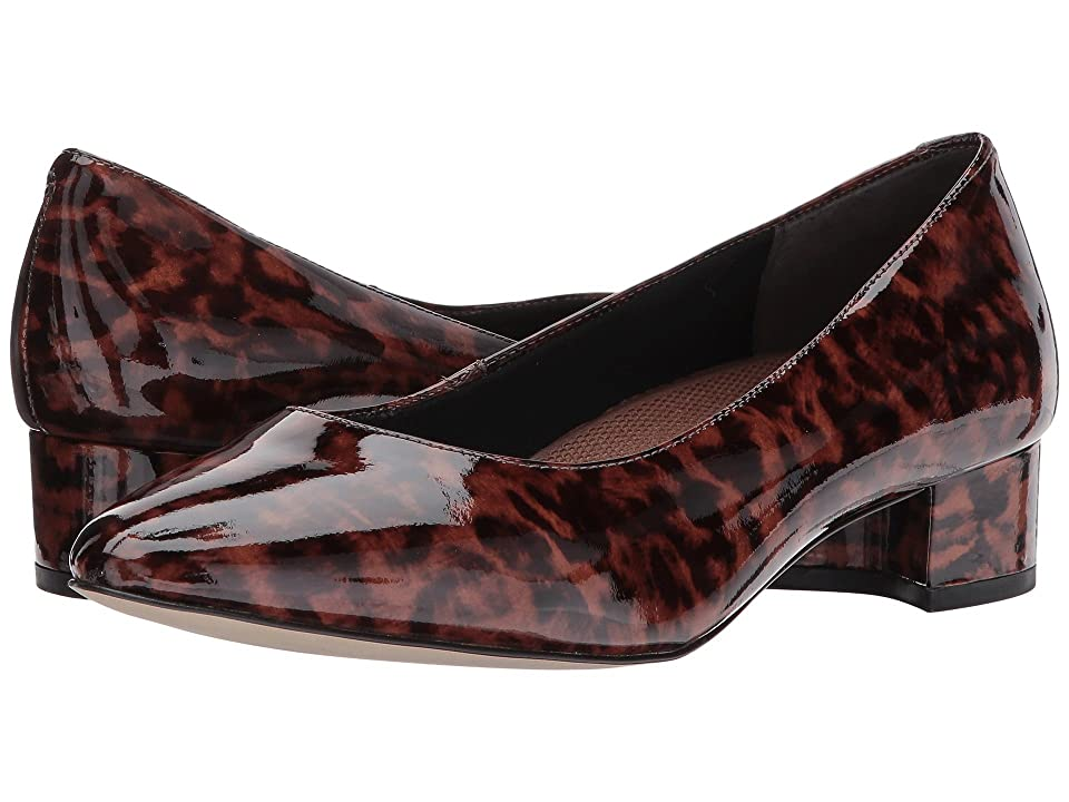 Walking Cradles Heidi (Leopard Patent Leather) Women