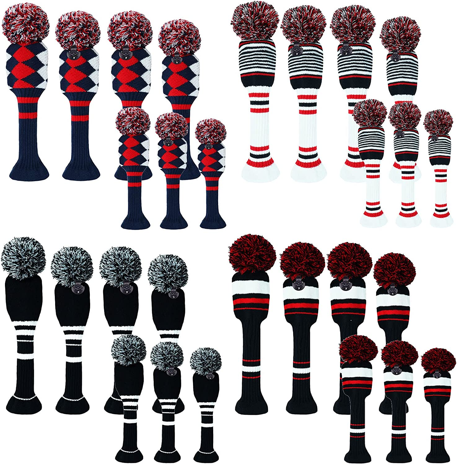 specialty shop FINGER TEN Golf Club Head Covers Driver Hy Max 84% OFF Fairway and for Woods