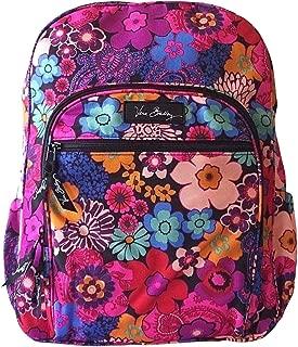 vera bradley campus backpack floral fiesta