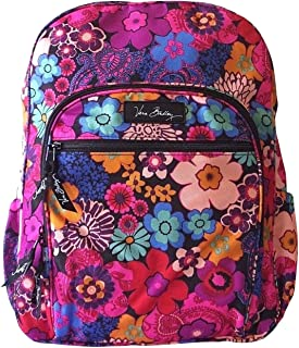 Vera Bradley Lighten Up Campus Backpack Floral Fiesta