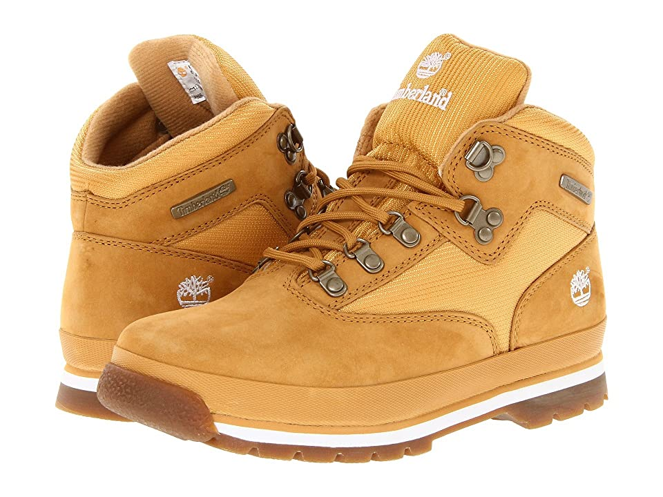 Timberland Kids Euro Hiker (Big Kid) (Wheat/Wheat) Boys Shoes