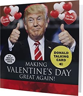 $88 » Talking Trump Valentines Card Surprise Someone With A Personal Valentine Day Greeting From The President Of The United States Includes Envelope
