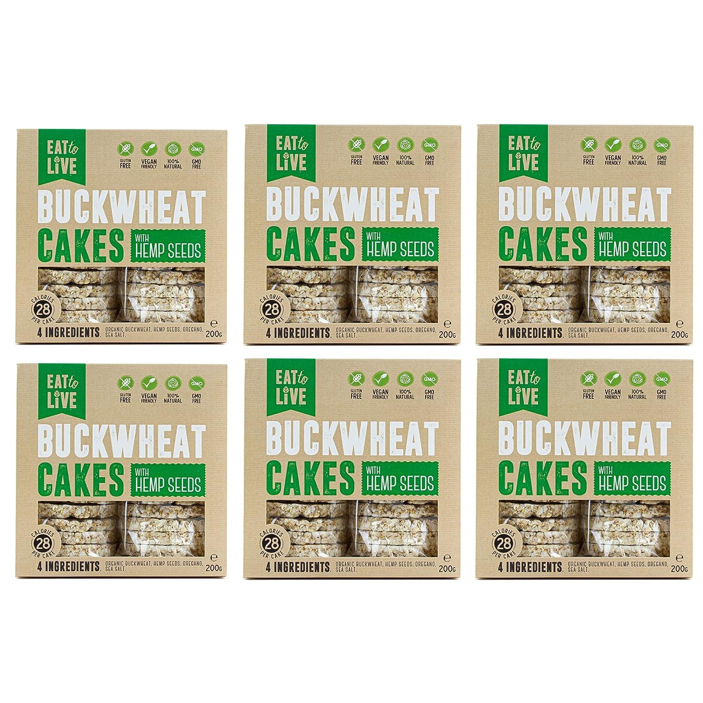5 ☆ popular BUCKWHEAT CAKES with HEMP. Max 70% OFF Gluten Carb Grain Low Free Ve