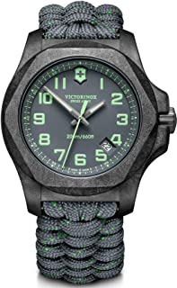Victorinox Homme I.N.O.X. Carbone - Montre Suisse à Quartz analogique en Acier de Fabrication Suisse 241861