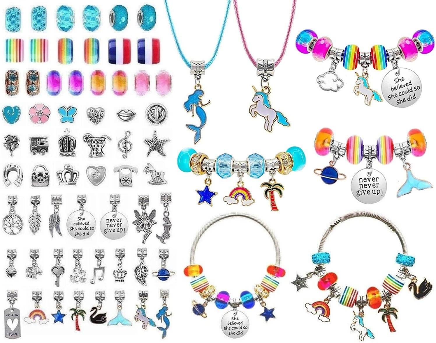 DIY Charm Bracelet Making Ranking TOP8 Kit Supplies Beads for Jewelry Industry No. 1