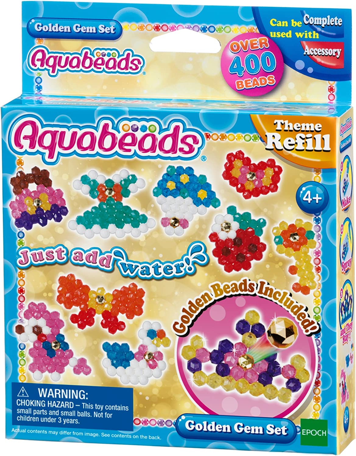 67% OFF of fixed price Aquabeads Golden Gem In stock Theme Set Refill