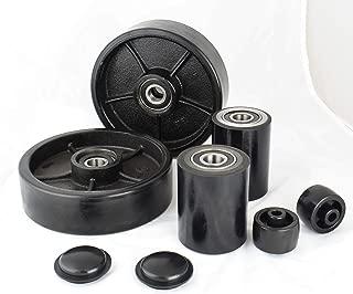 Pallet Jack/Truck Full Set (8 pcs) Steering Wheels 7