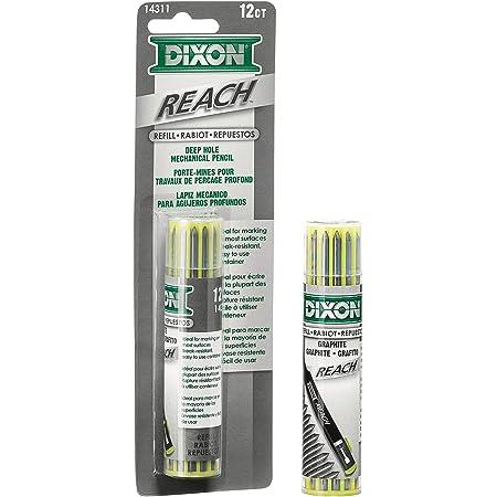 DIXON Industrial Reach- Lead Refills for Deep Hole Mechanical Pencils, (14311)