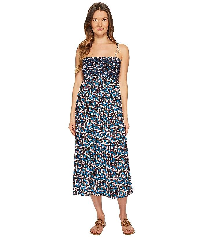Tory Burch Swimwear Clemence Convertible Dress Cover-Up (Navy Prism) Women