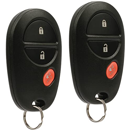 Key Fob Keyless Entry Remote fits Toyota Tacoma Tundra Sienna Sequoia Highlander (GQ43VT20T),