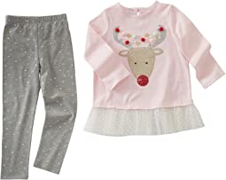 Mud Pie - Reindeer Tunic & Leggings Set (Infant)