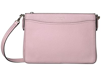 Kate Spade New York Margaux Medium Convertible Crossbody (Tutu Pink) Handbags