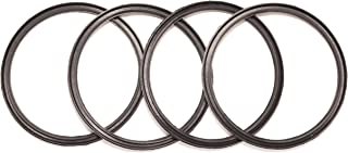 4 Pack New OEM Replacement Rubber Seals for 10, 12, 16 and 20 Ounce Stainless Steel Tumbler Lids from Yeti RTIC Ozark Trai...