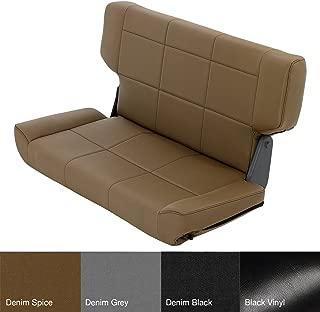 Smittybilt 41517 Denim SPC Rear Fold and Tumble Seat for Jeep TJ/LJ