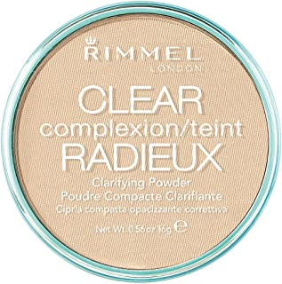 Rimmel London Clear Complexion Anti Shine Powder, Transparent, 0.56 Ounce