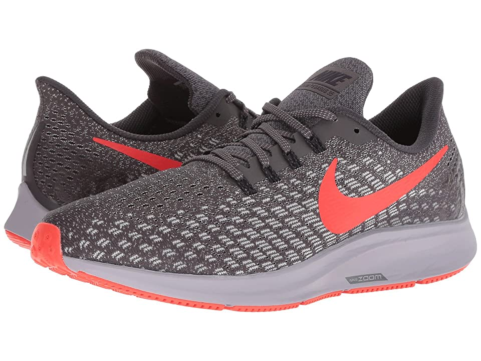 Nike Air Zoom Pegasus 35 (Thunder Grey/Bright Crimson/Phantom) Men