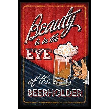 Toland Home Garden Eye Of The Beerholder 28 X 40 Inch Decorative Funny Happy Hour Beer Party House Flag Garden Outdoor