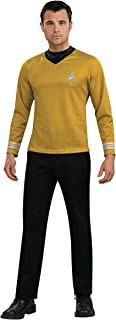 Rubie's Costume Star Trek Gold Star Fleet Uniform Shirt